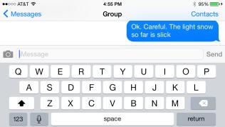 iOS Keyboard