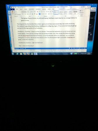 ThinkPad LED Off