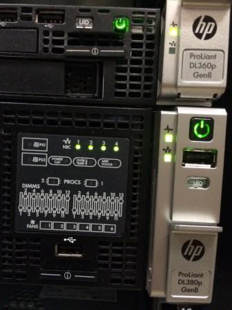 Server LEDs