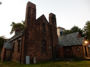 Pump house from back