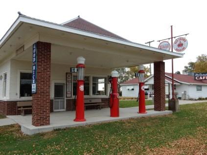 Restored Gas Station