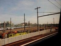rail yard in Brooklyn
