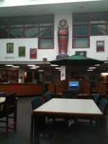 This is a committee meeting in the high school library. Huh?