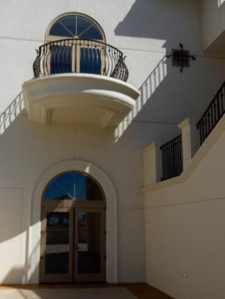 Interesting doors throughout the resort