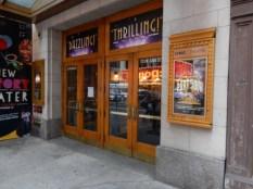 I love theater entrances