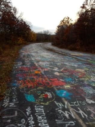 That's a lot of graffiti