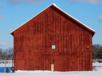 The right color for a barn.