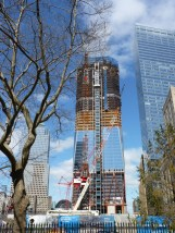 Working on the Freedom Tower in lower Manhattan.
