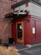 Main entrance to Union St Tavern.