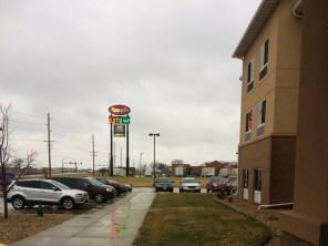 Rainy day in Iowa