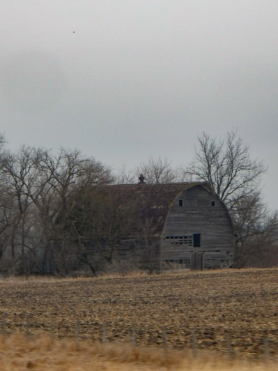 This barn could use a little TLC.