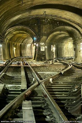 You could focus on the art and beauty of railroad infrastructure.