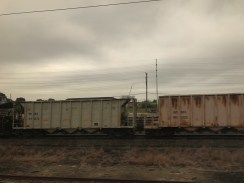 Just some rolling stock on the side of the tracks