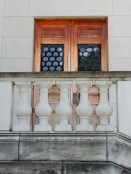 Door in the amphitheater behind the Tomb of the Unknown Soldier