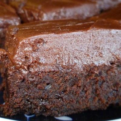 Baily's Irish Cream Brownies