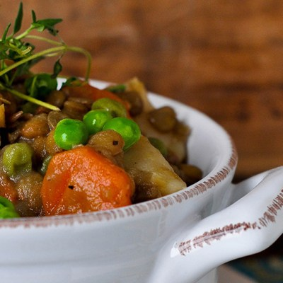 Lentil & Vegetable Stew Recipe