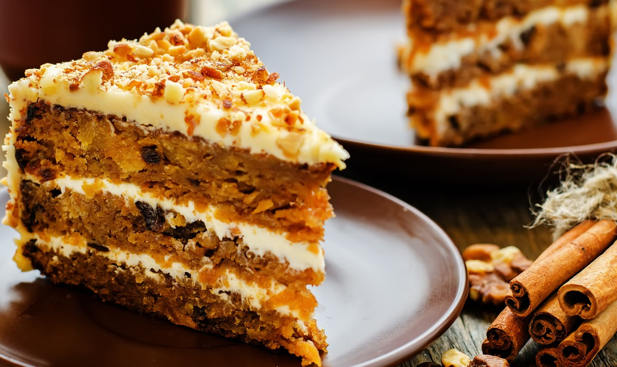 Carrot Cake No Raisins