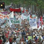An estimated 600,000 Australians participated in Iraq War Protest Marches in  February 2003