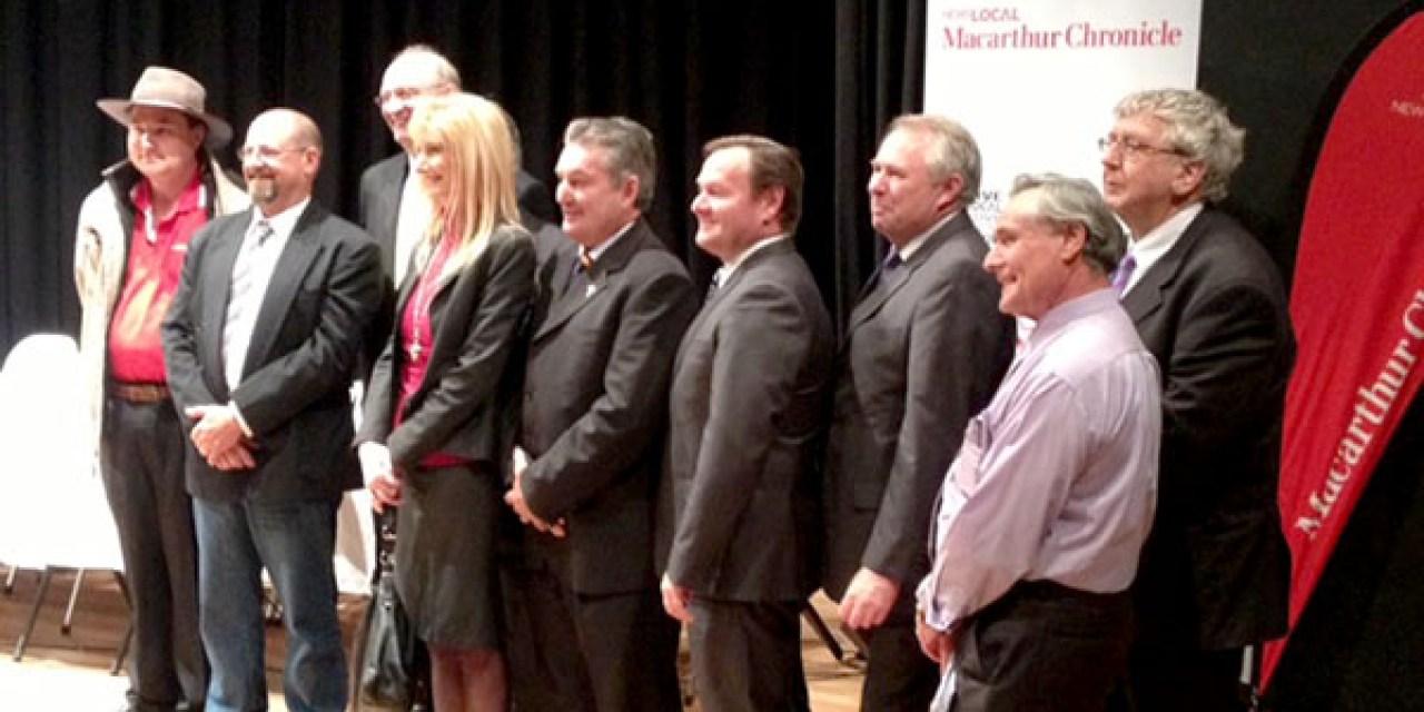 Macarthur candidates forum an eye opener: @LisaKremmer reports