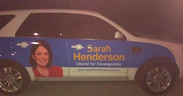 Henderson---car