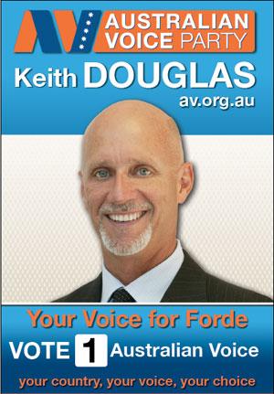 Keith Douglas Australia Voice