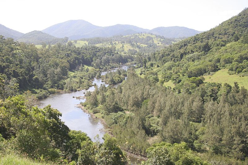 The Manning Valley - under threat from coal seam gas mining (photo courtesy Graemec)