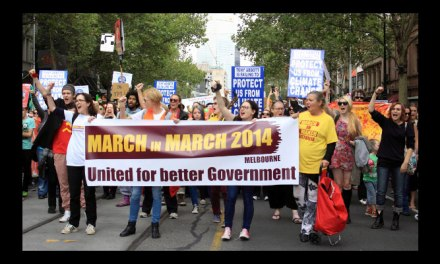 The #MarchinMarch Melbourne in pictures, by @Jansant