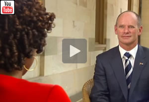 ABC News Qld: Full interview with Campbell Newman on his second year anniversary with Karina Carvalho
