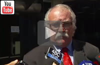 ABC News Qld: Lawyer Chris Hannay lodges $1m defamation action against Newman and Bleijie.