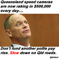 Queensland speed cameras are now raking in $500,000 every day.