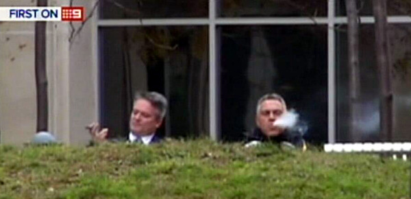 Federal Treasurer Joe Hockey Minister for Finance Mathias Cormann brutal budget