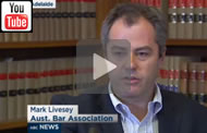 ABC News Qld: Australian Bar Association President Mark Livesey.
