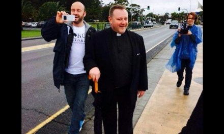 Speaking out at Gosford #MarchInAugust: @FrBower transcript