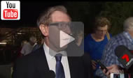 ABC News Qld: Fearless Bruce Flegg faces down President Bruce McIver's choise for Moggill.