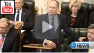 """Ten News Qld:  """"My friend the Treasurer"""": Newman denies Nicholls is undermining the LNP"""