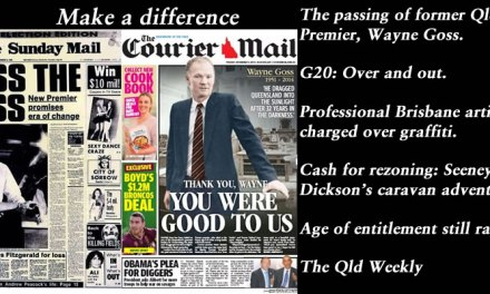 Make a difference – The Qld Weekly #qldpol: @Qldaah