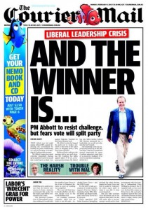 09/02/15 The Courier Mail - Labor's Indecent Grab For Power (1st Edition)