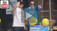 @Can_do_Campbell arrested with 'I'm with Stupid' T-shirt during LNP campaign