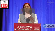 """Ten News Qld: Palaszczuk: """"We have had enough of the cockiness,the bullying & plain nastiness of last 3 yrs"""""""