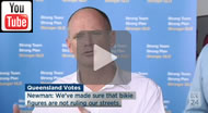 ABC News Qld: #qldvotes 'This is what I hear': Newman asked for connection between unions and bikies