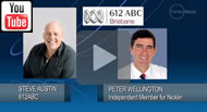 612 ABC Brisbane: Peter Wellington says becoming Speaker of the House would be 'a great privilege'.