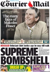The Courier Mail: Supreme Bombshell