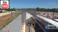 Ten News Queensland: Making tracks - Morton Bay Rail line '130 years in the making'.