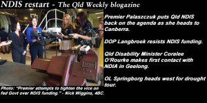 NDIS restart - The Qld Weekly blogazine