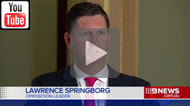 Shane Doherty reported: Opposition Leader Lawrence Springborg wants parliamentary voting rules changed to deny Billy Gordon's relevance.