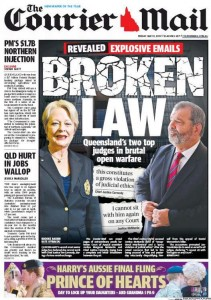 The Courier Mai - Broken Law -  May 8, 2015.