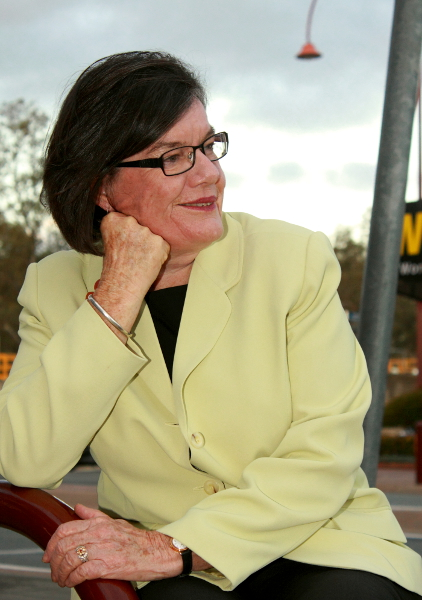 Cathy McGowan MP, looking to continue representing Indi until the election and beyond. Photo: Wayne Jansson