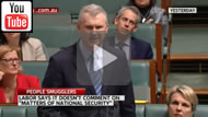 """Sky News: """"Matters of national security"""": Labor may have paid people smugglers for intel."""