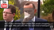 "Tony Abbott ""What this government has done is stop the boats."""