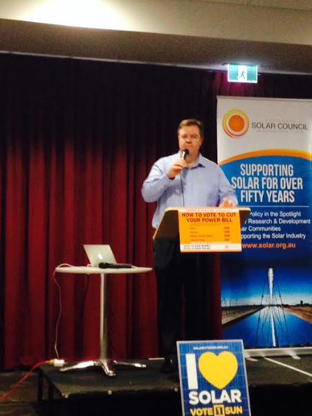 John Grimes. CEO Solar Council, Photo: John Pratt